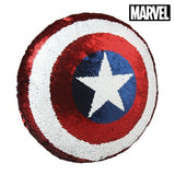Magic Sequinned Mermaid Cushion The Avengers 74488 Blue (30 X 30 cm)