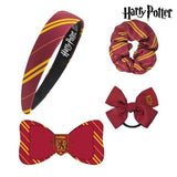 Hair accessories Griffindor Harry Potter Maroon (4 Pcs)