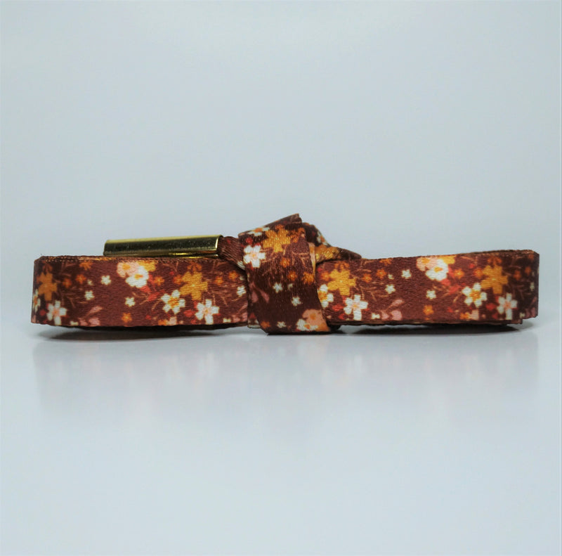 """Maisie"" - Floral Shoelaces"
