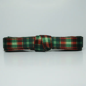 """Eve"" - Holiday Plaid Shoelaces"