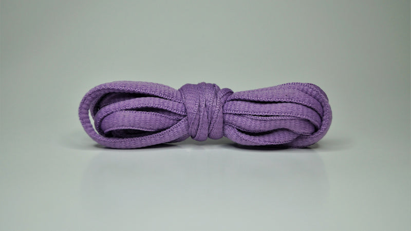 Lilac - Oval Laces