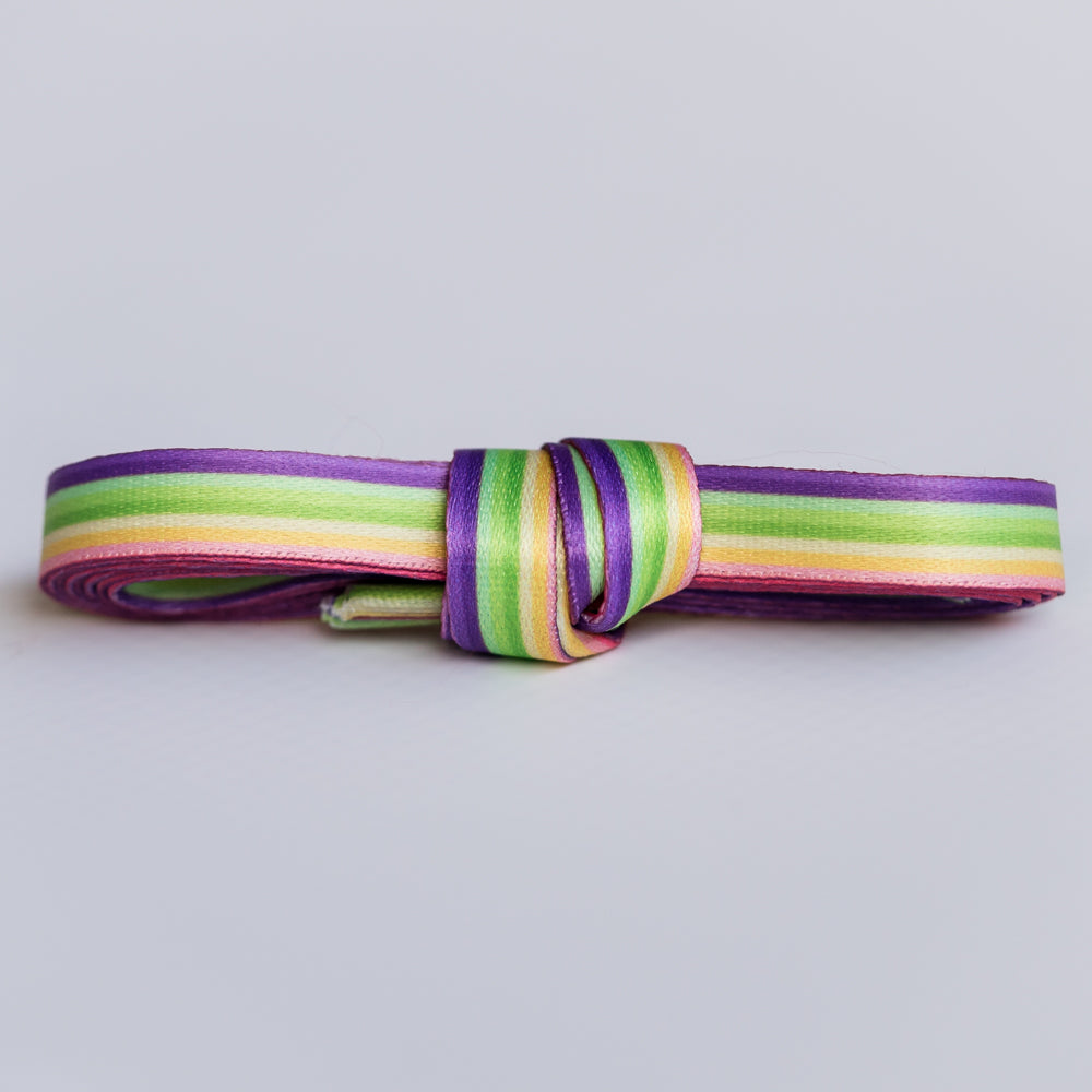 rainbow pattern shoelaces