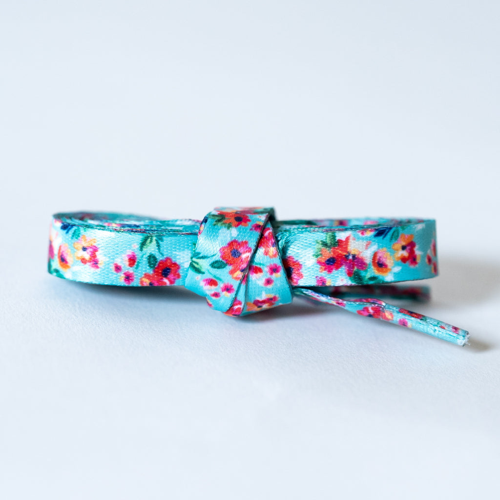 """Claire"" - Floral Shoelaces"
