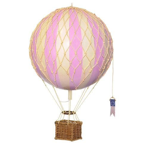 Luftballon Authentic models - Travels Light - Pink 18 cm