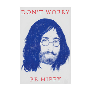 A3 Print - Don't Worry Be Hippy