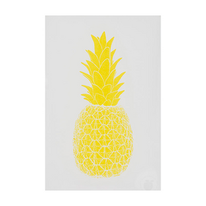 Marke Newton A3 Print - Yellow Piña Pineapple