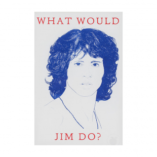 Marke Newton A3 Print - What would Jim do?