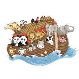 Wallsticker - Noah's ark