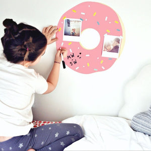 RoomMates - Wallstickers - Gigant donut - Pink