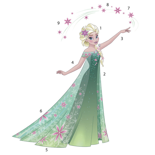 RoomMates - Wallstickers - Gigant Frost Elsa