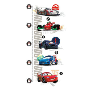 RoomMates - Wallstickers - Højdemåler - Cars 2