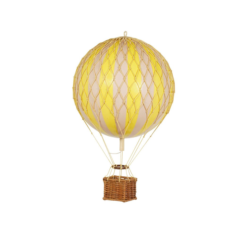Luftballon Authentic models - Floating The Skies - Gul 8,5 cm