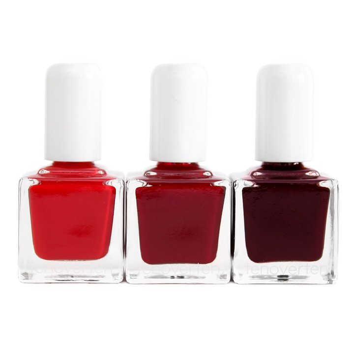 Ideal Reds Nail Polish Bundle