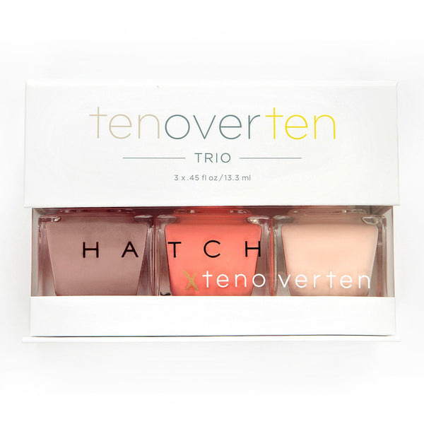 tenoverten x HATCH