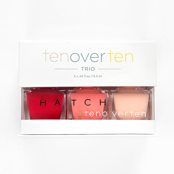 Tenoverten x HATCH Trio