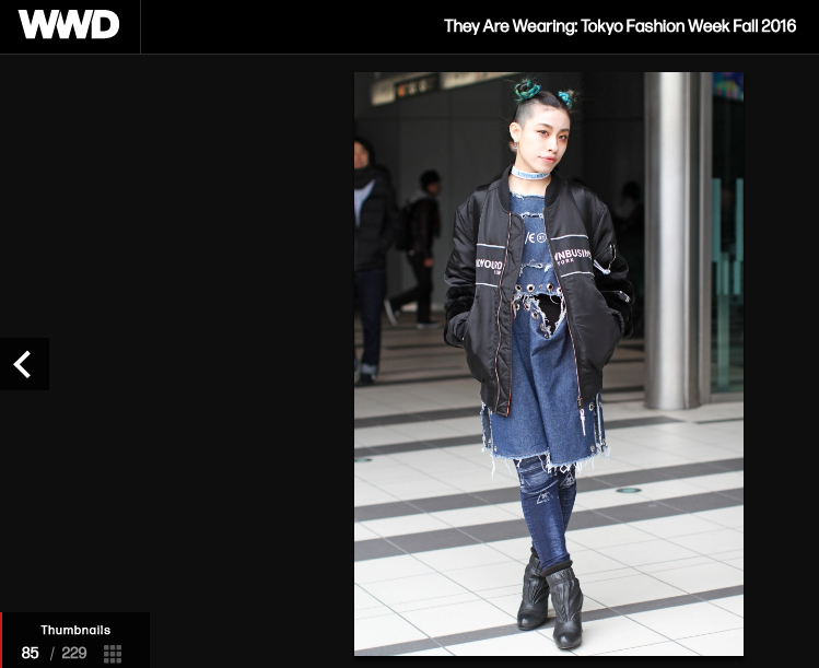 WWD Whatever 21 at Tokyo Fashion Week