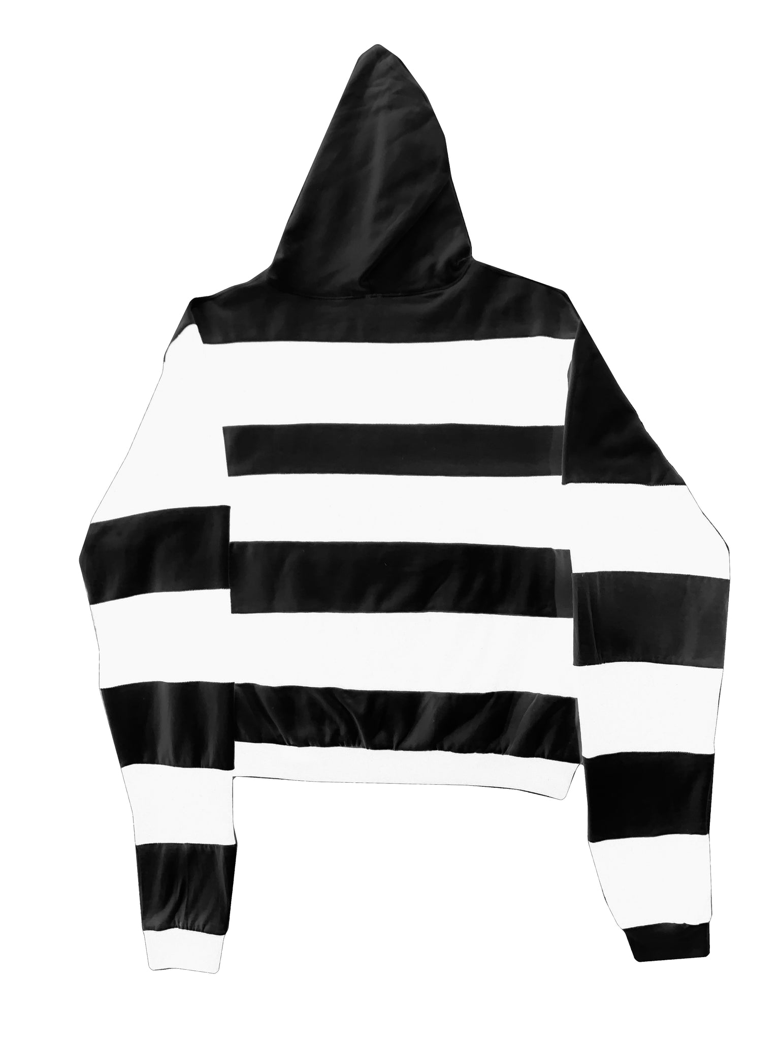 Broken Heart Striped Hoodie
