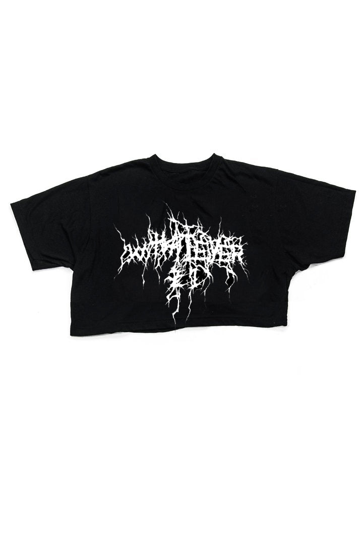 DARK LORD LOGO CROP TOP