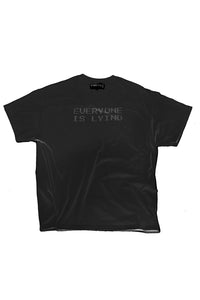 EVERYONE IS LYING CRYSTAL TEE BLACK
