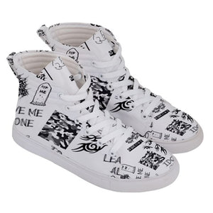 LEAVE ME ALONE hi-tops LIMITED EDITION SNEAKERS