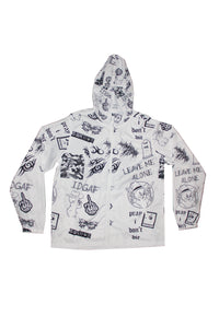 Leave Me Alone Hooded Windbreaker LIMITED EDITION JACKET