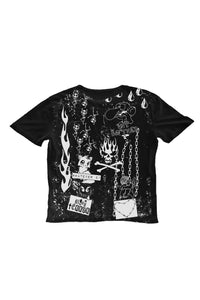 Night Terror Black Tee
