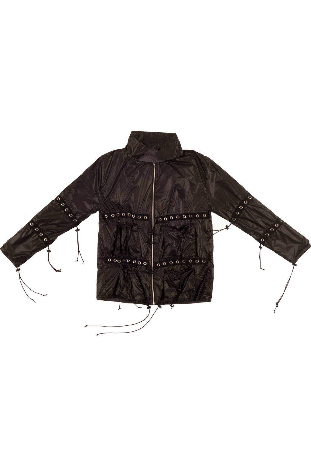 NYLON BUNGEE POCKET JACKET
