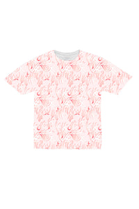 Pink Tribal Athletic Tee