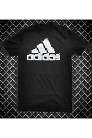 PIXELATED ATHLETIC LOGO TEE
