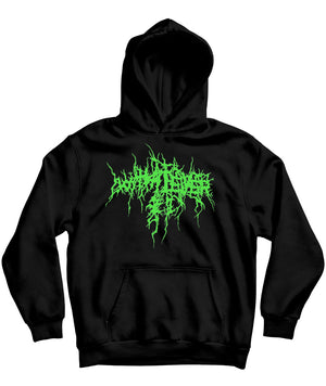 Slime Green Dark Lord Blacklight Hoodie