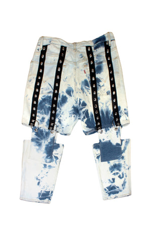 Suspended Acid Wash Jeans