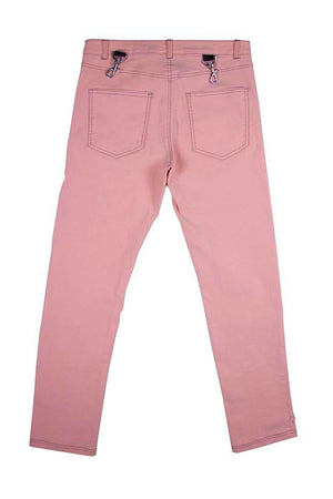 Pink Tribal Patchwork Pants