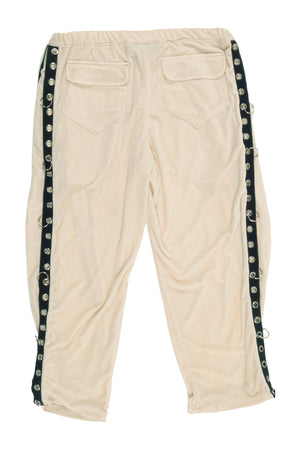 VELOUR BREAKAWAY PANTS