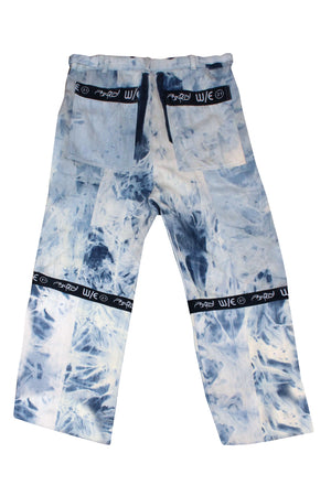 Giant Acid Wash Zipoff Jeans