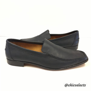 Hermès Suede Square-Toe Loafers free shipping pick a best 0ZG8l2d
