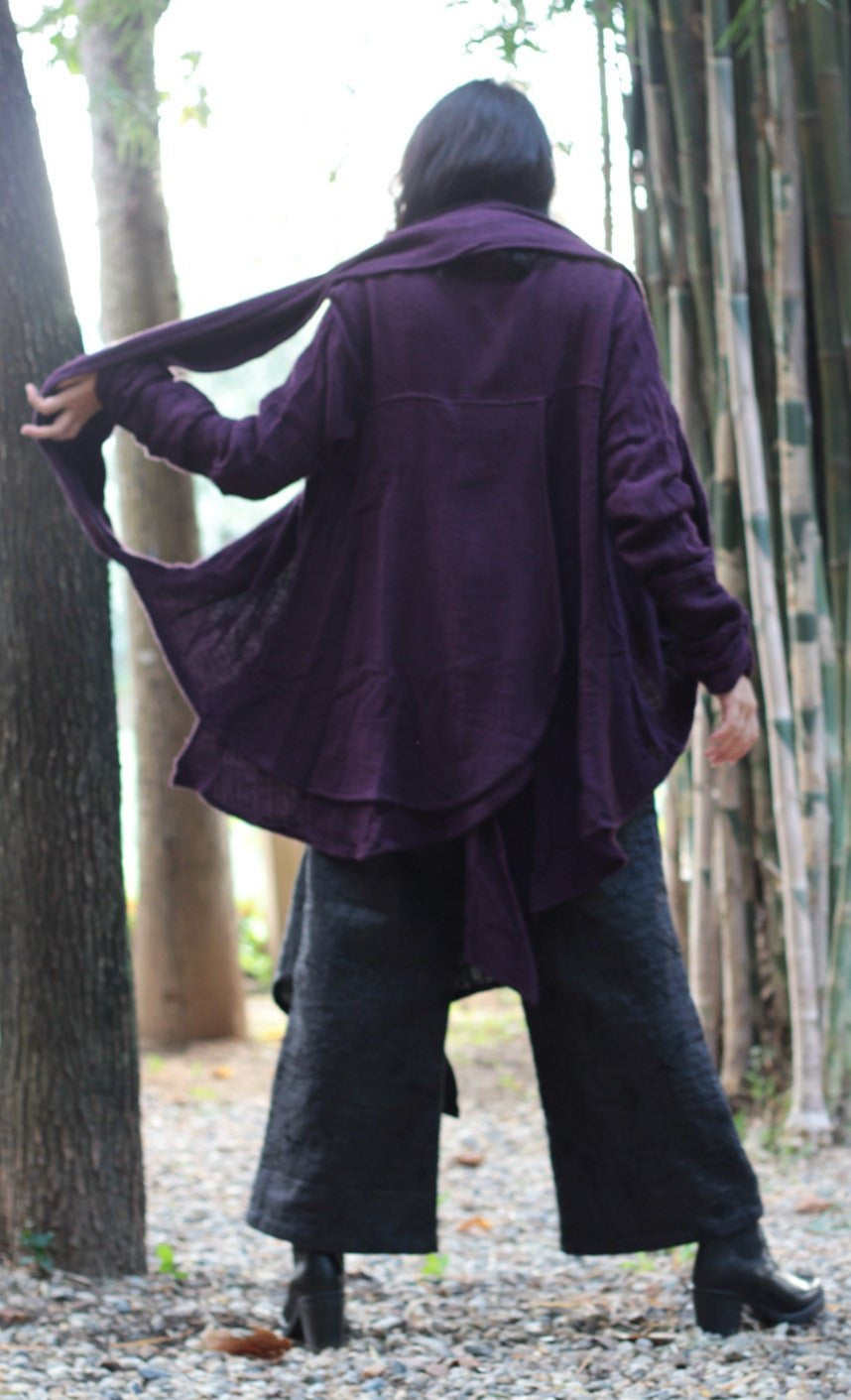 Jacket/Winter jacket/Cardigan / versatile jacket/ scarf (One size) Custom color