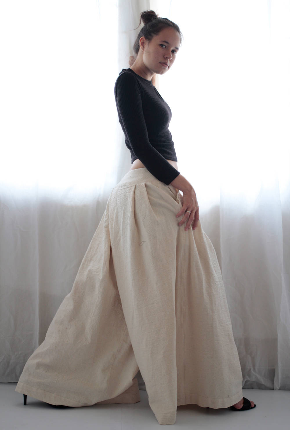 Pants...  wide pants..(1418) custom order made size..
