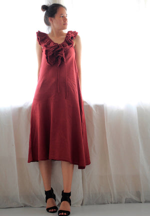 knee length dress ...(318) cotton mix silk available in all colour all size