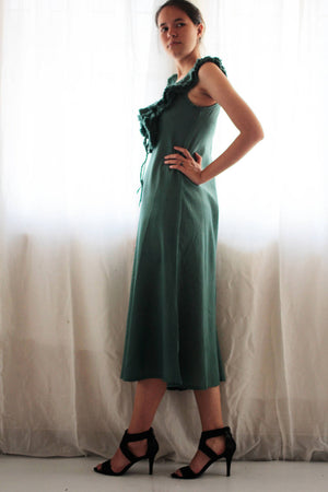 Dress/Knee length cotton mix silk available in all colour all (318)