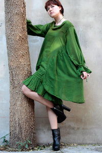 Dress/Bohemian elegant long sleeve  Dress .(372)