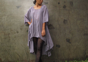 Oversize  tunic/dress lavender  S,M,L