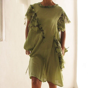 Tunic.... Olive Green and more colours available (fits S-M)