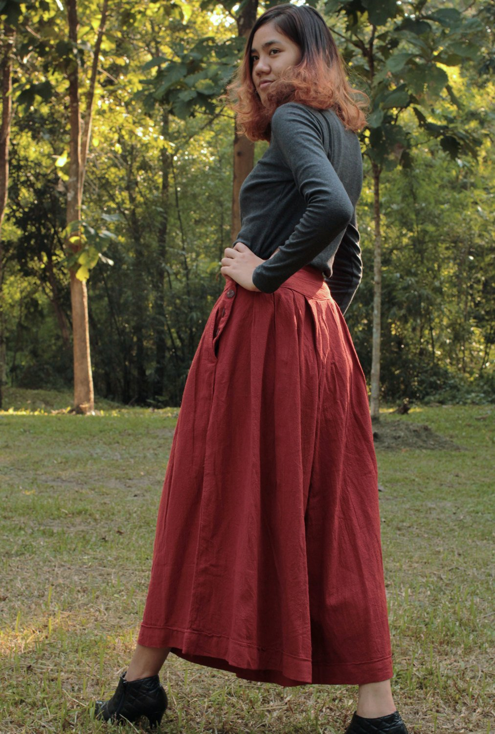 Wide Pants (1418) in custom size