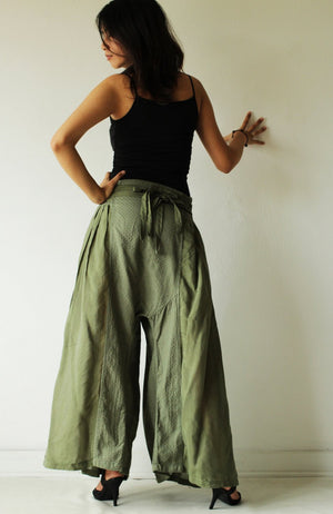 Pants/Wild side Pants colour No.17 mix silk (M,L) (244)