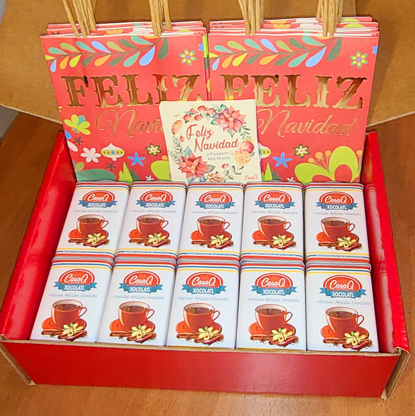 Xocolatl Artisan Mexican Chocolate 30pc Fiesta Gift Pack