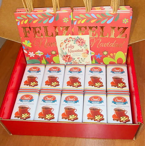 Xocolatl Artisan Mexican Chocolate 10pc Fiesta Gift Pack