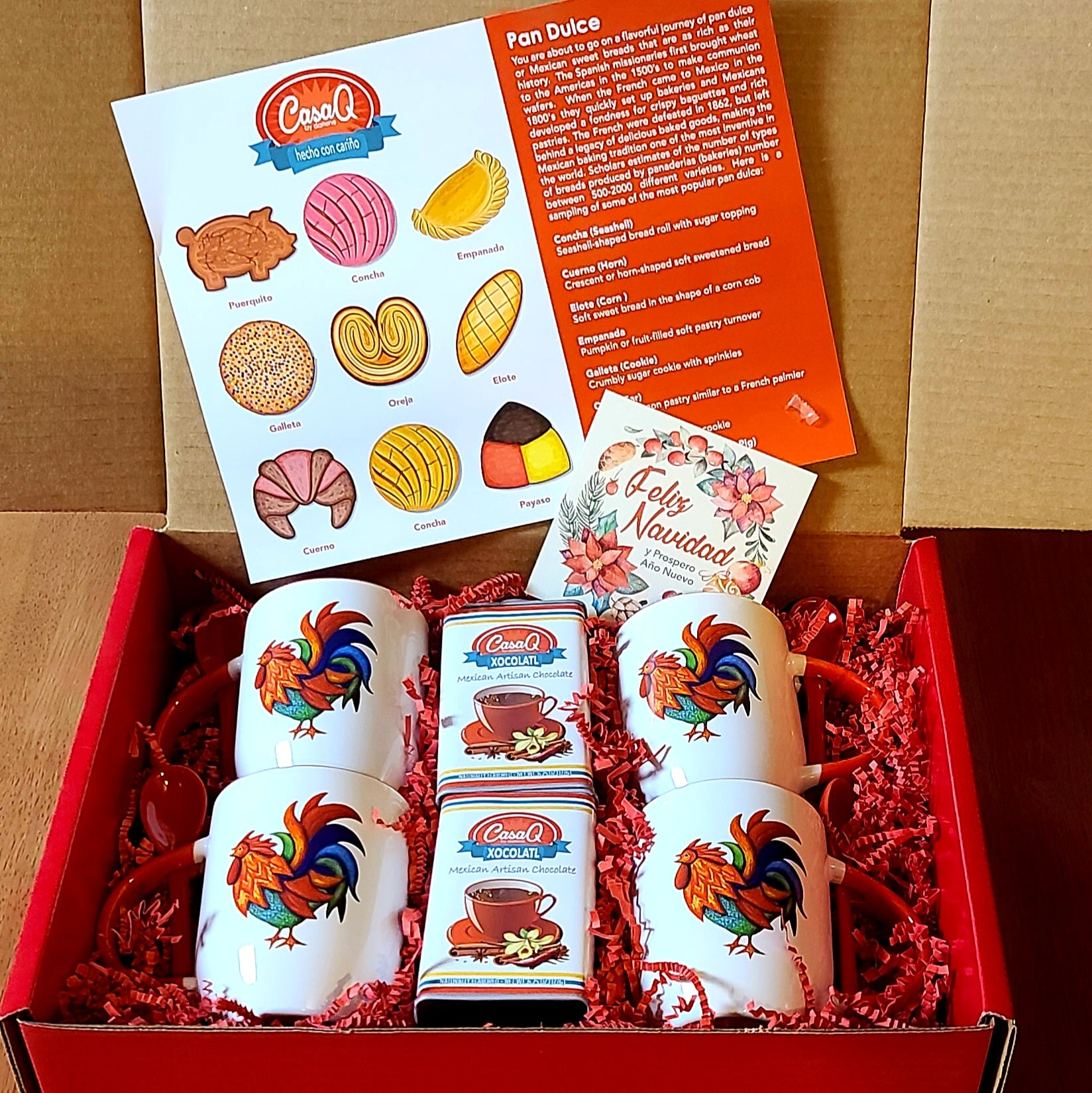 Xocolatl Family Gift Pack 8pcs
