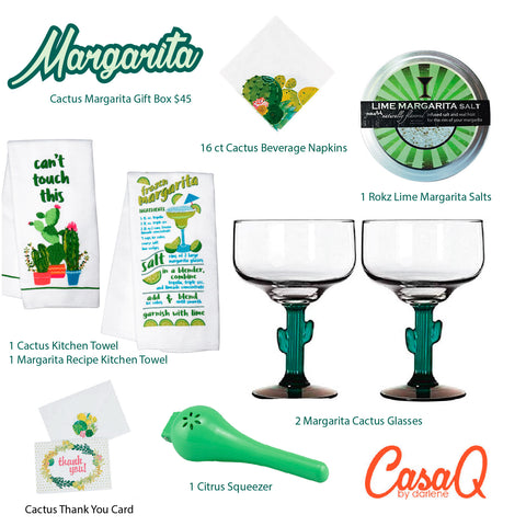 Cactus Margarita Gift Set - 8pcs