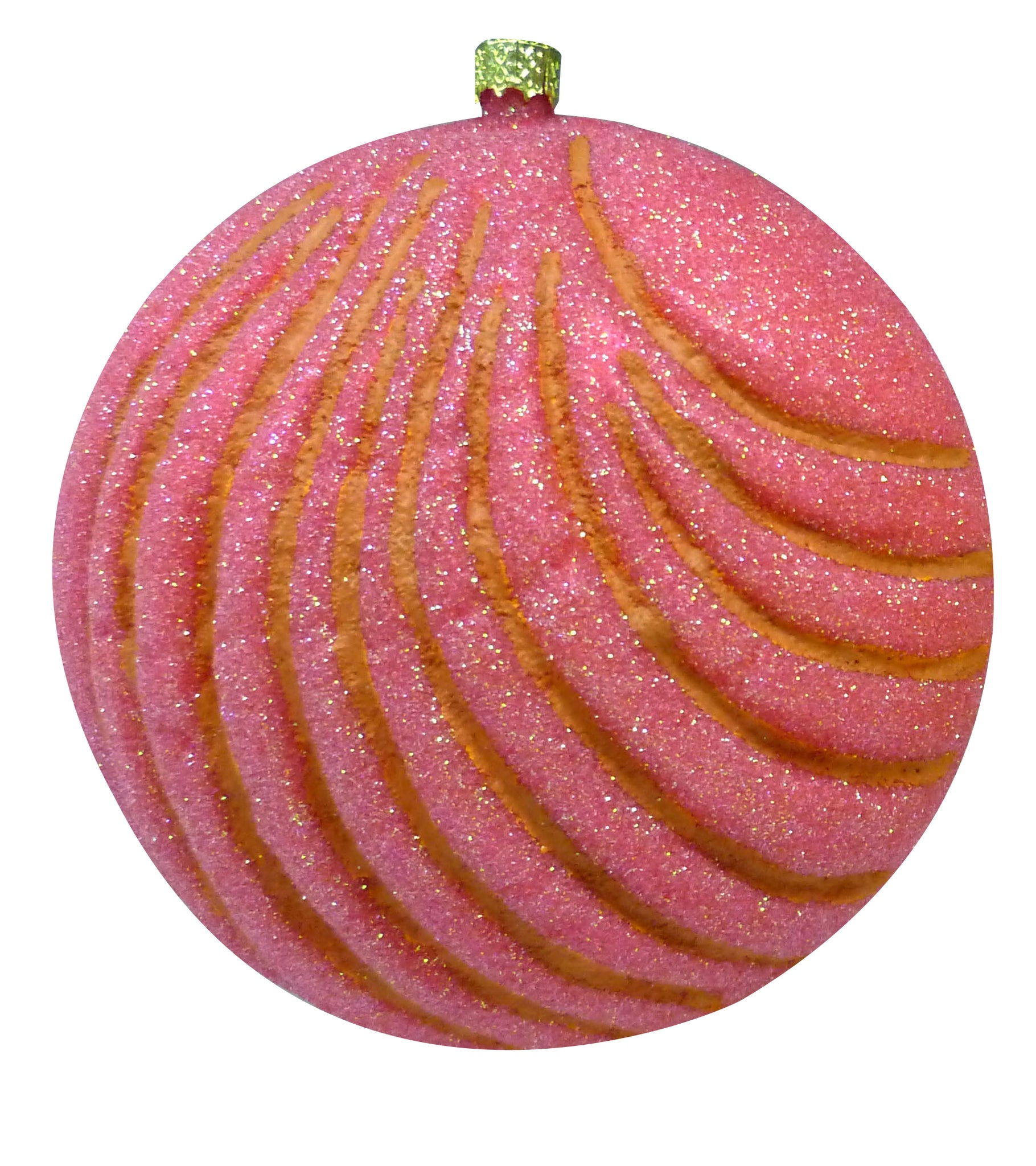 Pan Dulce Concha Fine Hand-Painted Glass Ornament by CasaQ
