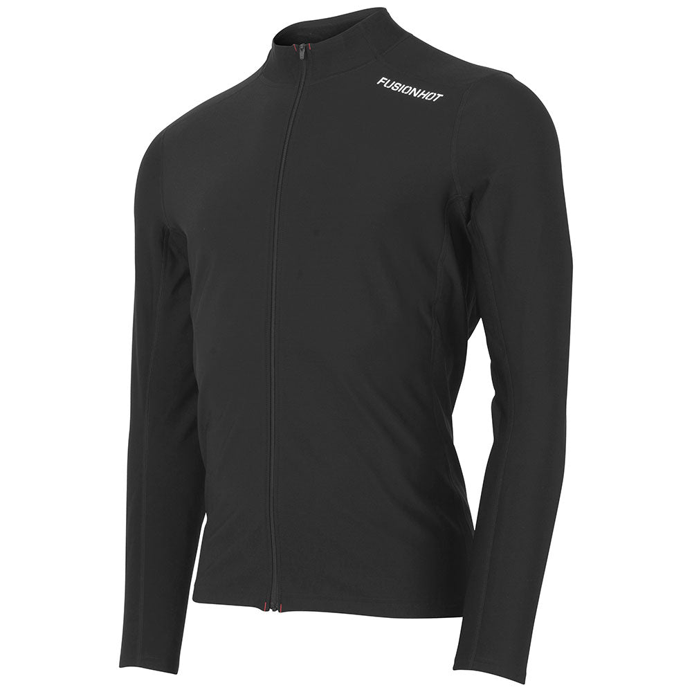 Mens Hot Zip Run Shirt